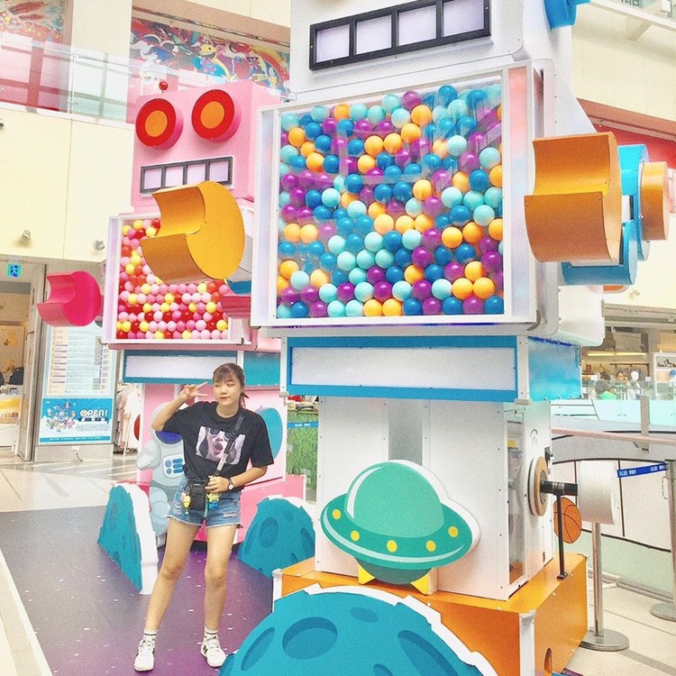 Play area at Dream Mall Kaohsiung