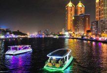 love river takao river kaohsiung at night (2)