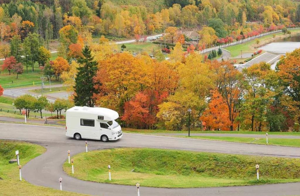 camper van Hokkaido travel blog autumn Things to do in Hokkaido in autumn and best places to visit in Hokkaido during autumn