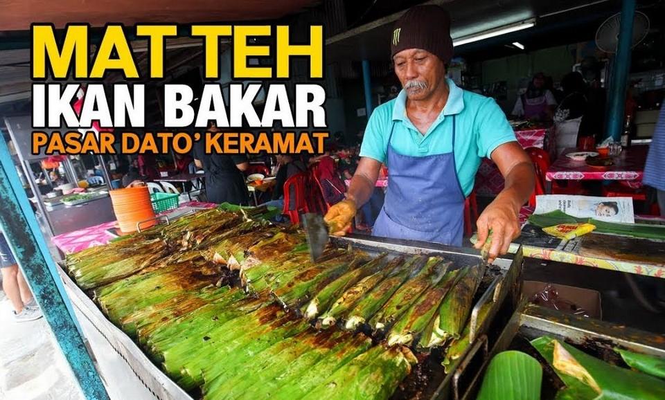 Mat Teh Ikan Bakar