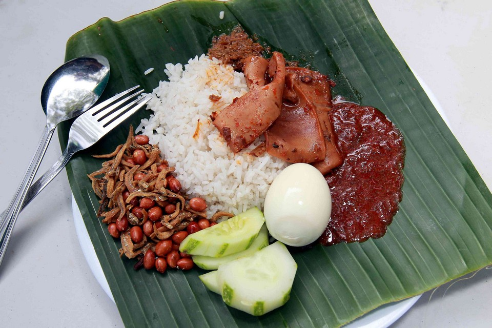 Nasi Lemak Tanglin malaysia must eat (1)