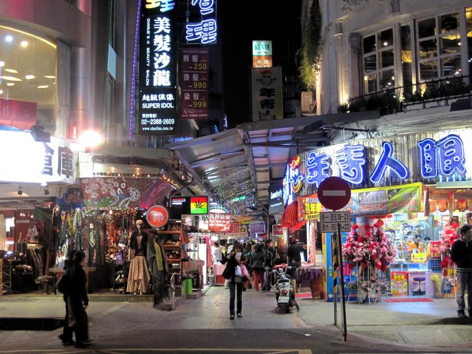 ximending store cheap shopping in taipei