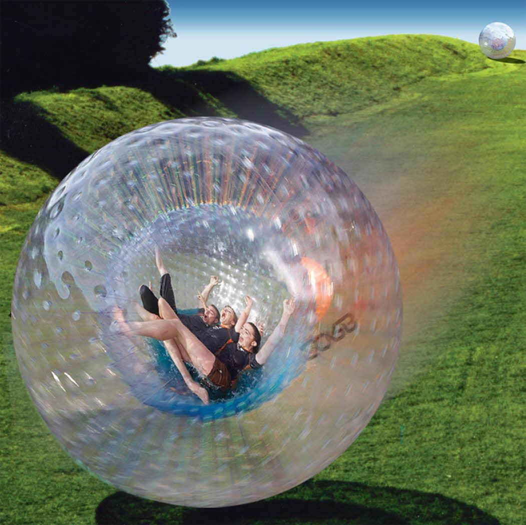 jeju Big Ball Land Zorbing (1)