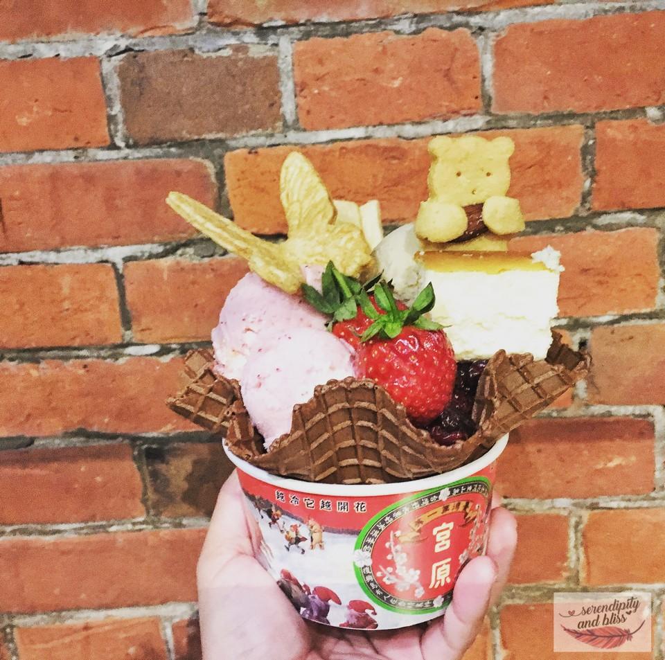 Where to eat in Taichung Taiwanese Ice-cream at Miyahara (1)