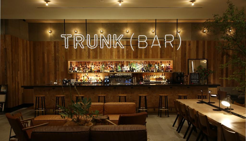 Minimalist hotel Tokyo Trunk Hotel (1)