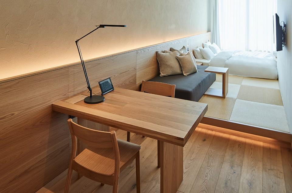 The Muji Hotel Ginza ,minimalist hostel tokyo (1)