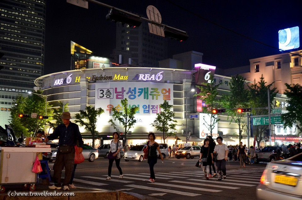 Dongdaemun shopping