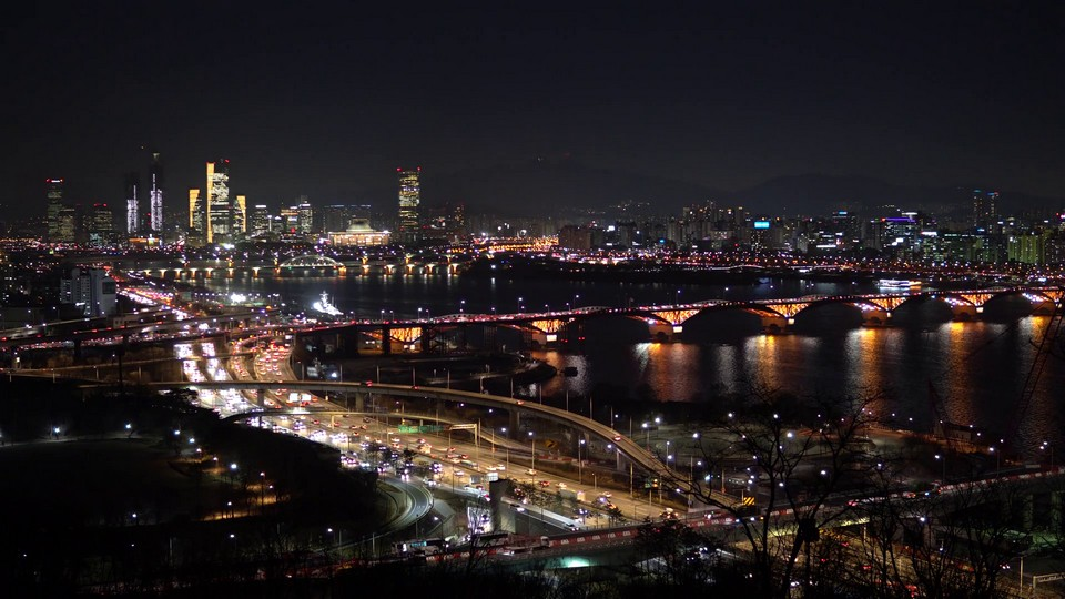 seoul han river picnic,sunset,night,things to do in seoul at night