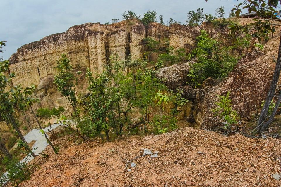 Pha Chor canyon in Mae Wang National Park,Chiang Mai,Thailand