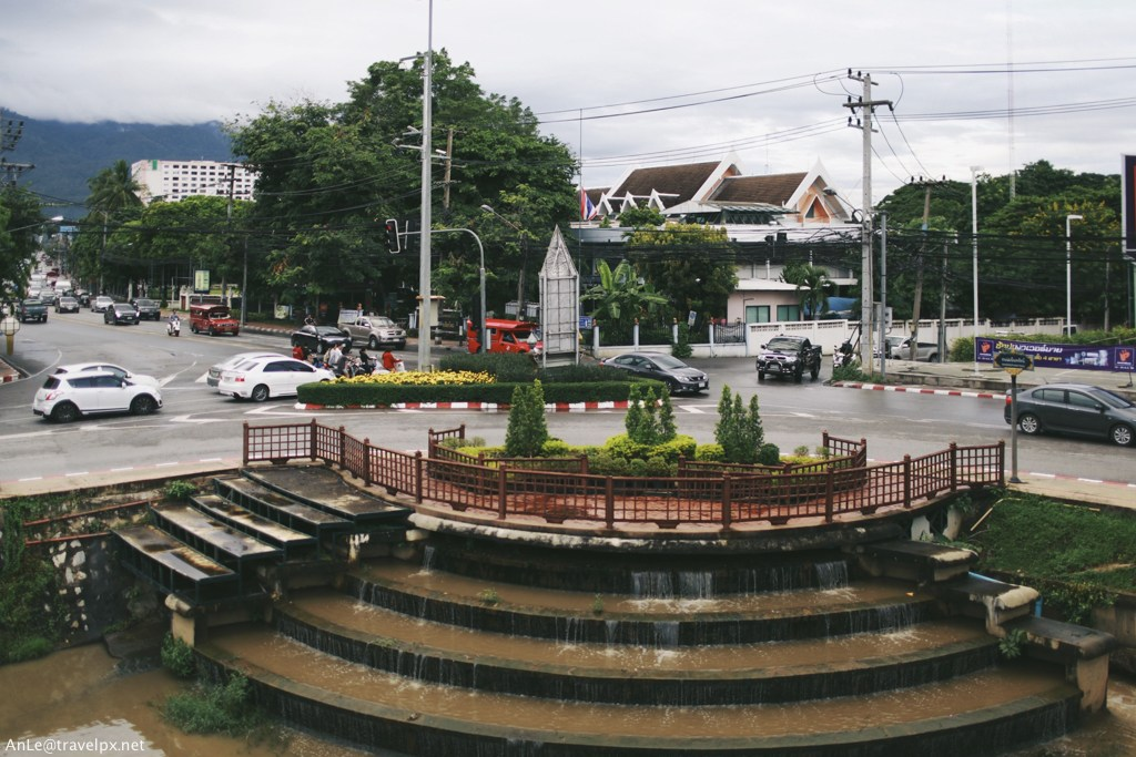 The downtown of Chiang Mai