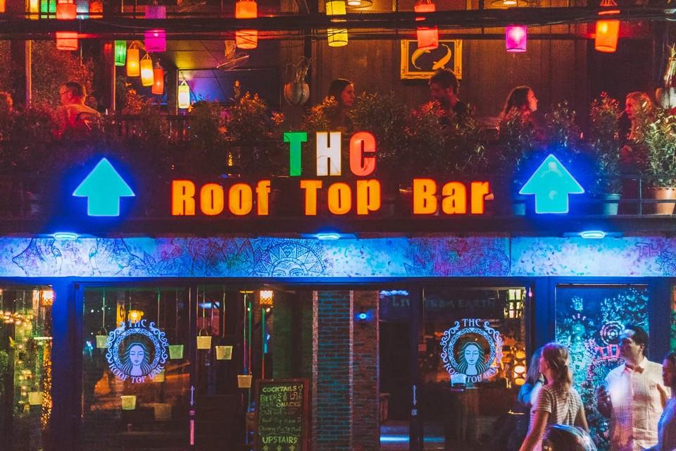 THC Rooftop bar