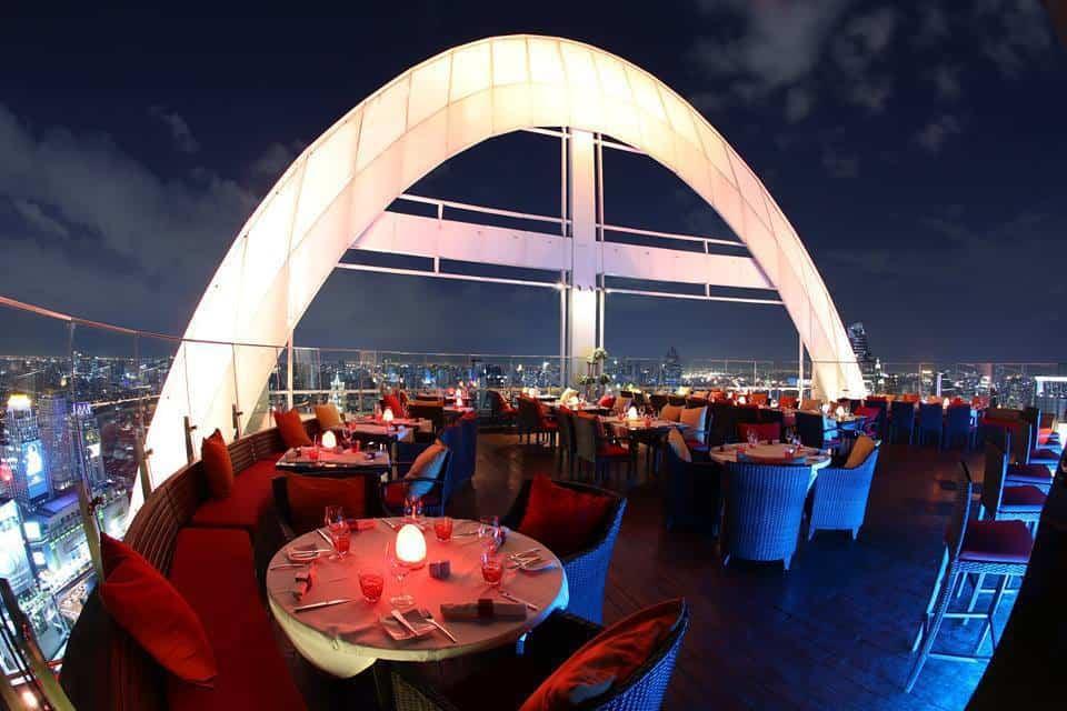 Top sky bars in Bangkok Red Sky – Centara Grand at CentralWorld (1)