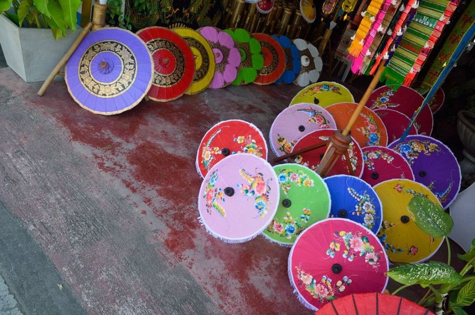 Handicraft Village Chiang Mai Bo Sang Umbrella Village (1)
