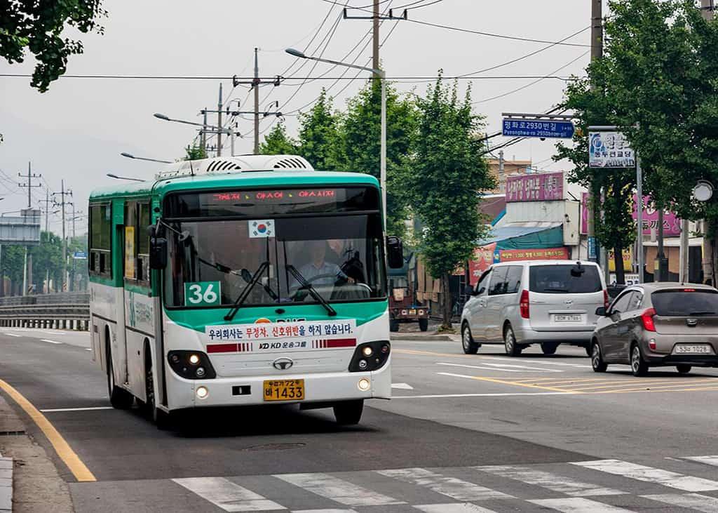 bus seoul