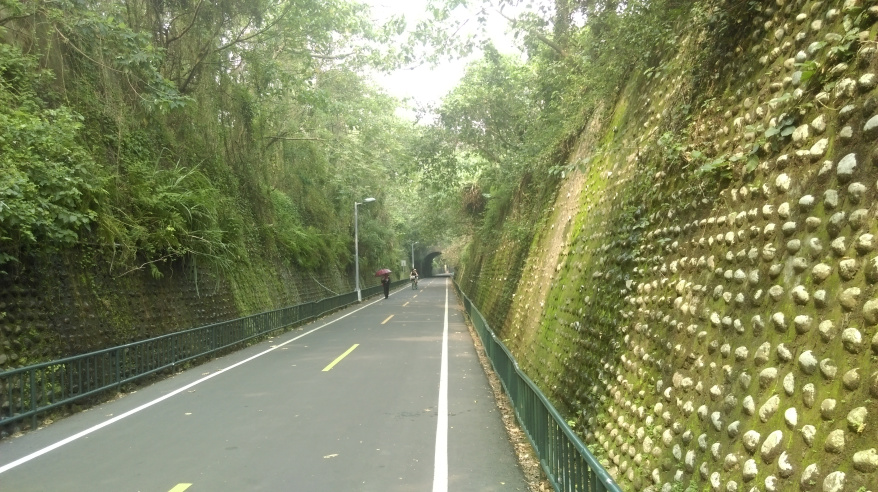 Dongfeng Bicycle Green Way Green Corridor and Hou-Feng bike path (1)