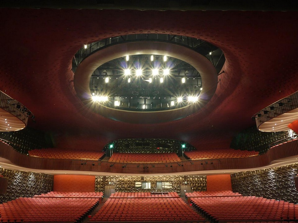 Top places to visit in Taichung Taichung Metropolitan Opera House (National Taichung Theater) (1)