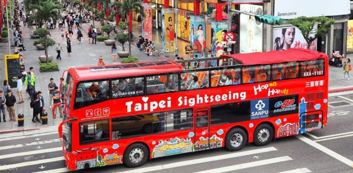 taipei hop on hop off bus review