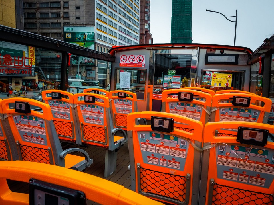 taipei sightseeing bus route