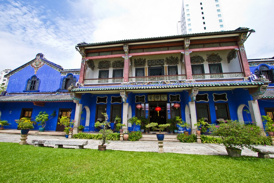 Cheong Fatt Tze blue mansion