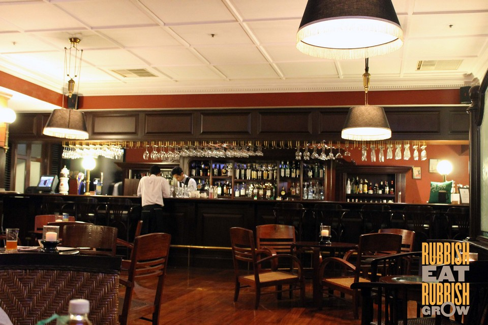 Eastern & Oriental's Farquhar Bar