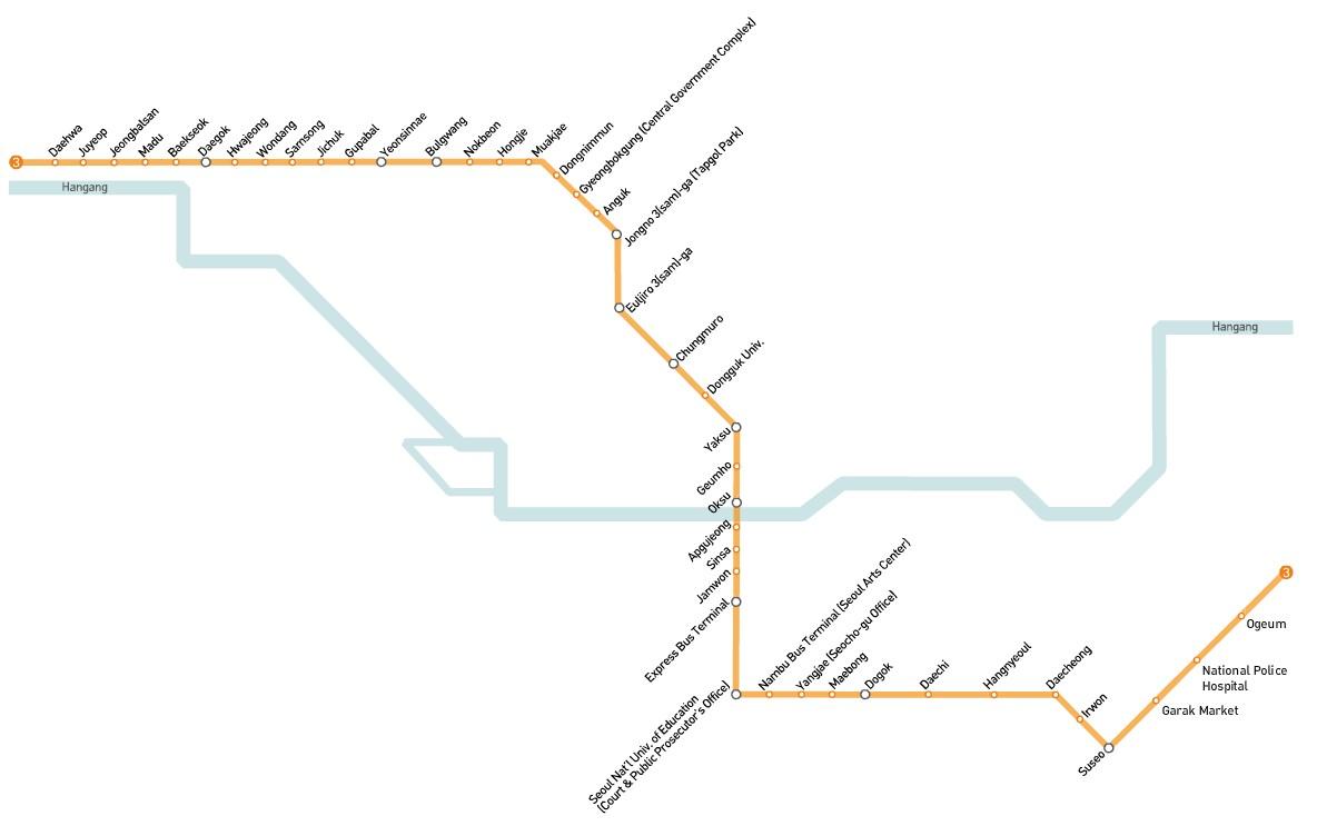 Seoul subway Line 3