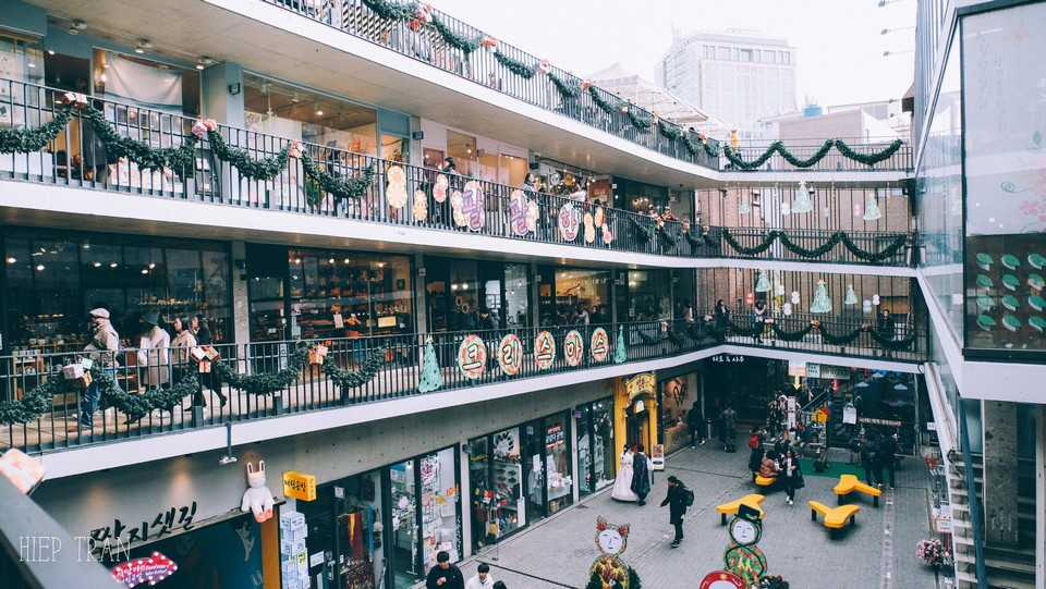 ssamziegil shopping complex