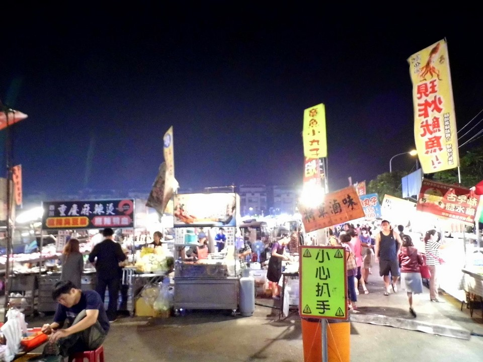 Best night market in Taichung Hanxi Night Market (6)