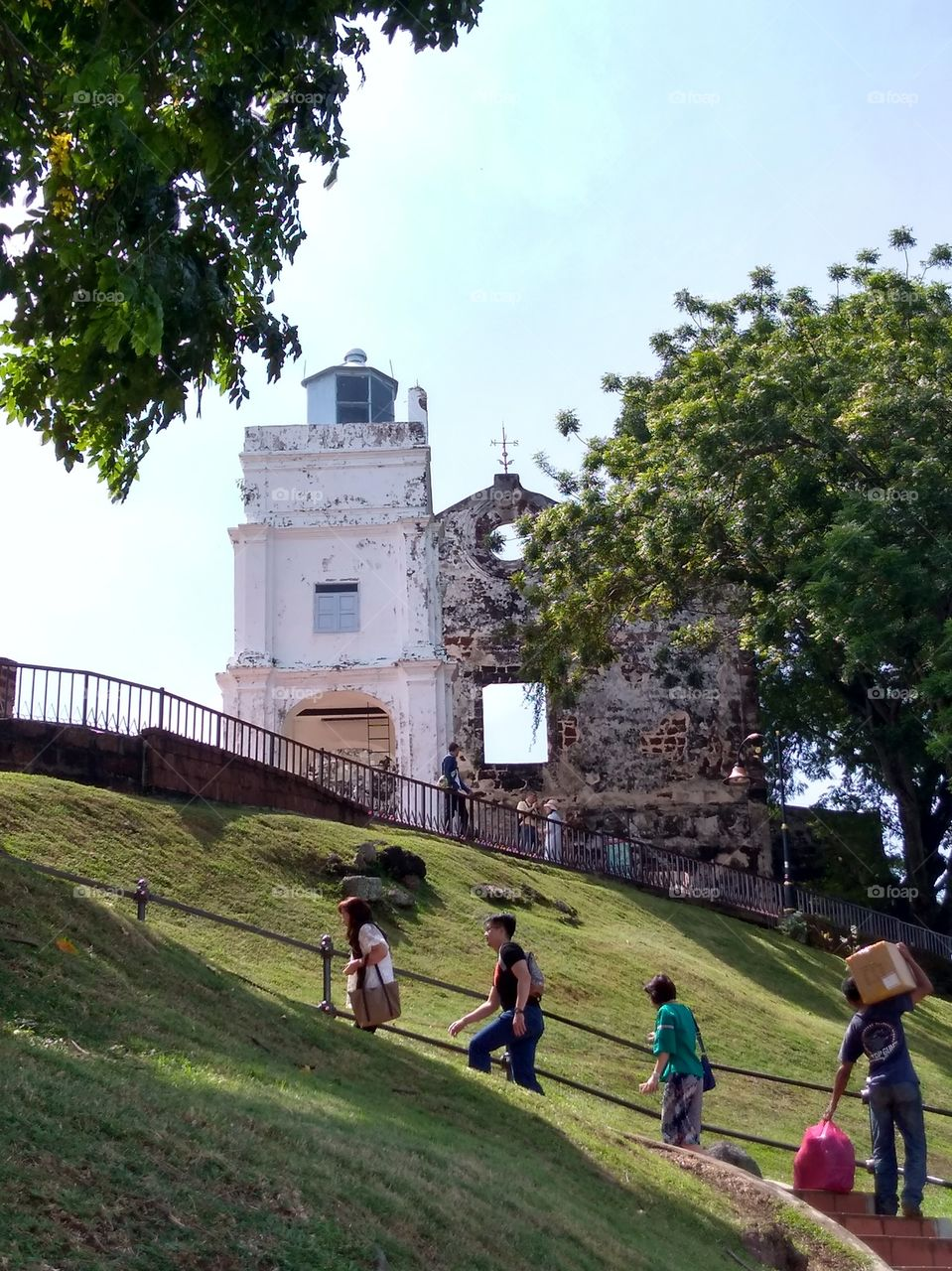 Malacca itinerary 1 day St. Paul's Hill & Church (Bukit St. Paul) (4)