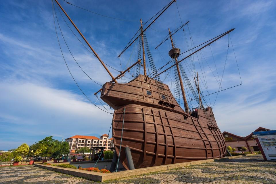 Malacca itinerary blog Melaka Maritime Museum (1)
