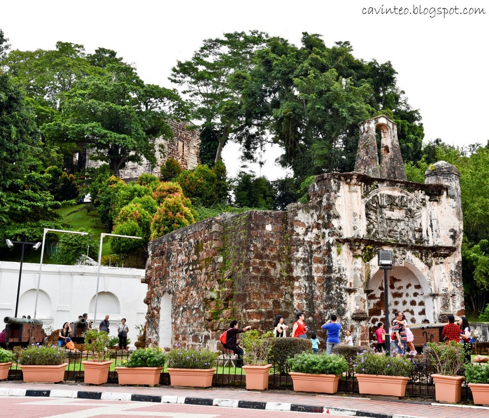 Melaka day trip from KL A Famosa fort (1)