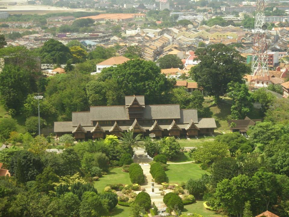 Melaka itinerary 1 day Melaka Sultanate Palace Museum (14)