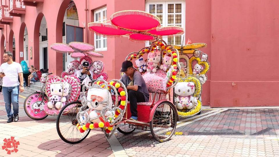 melaka tricshaw