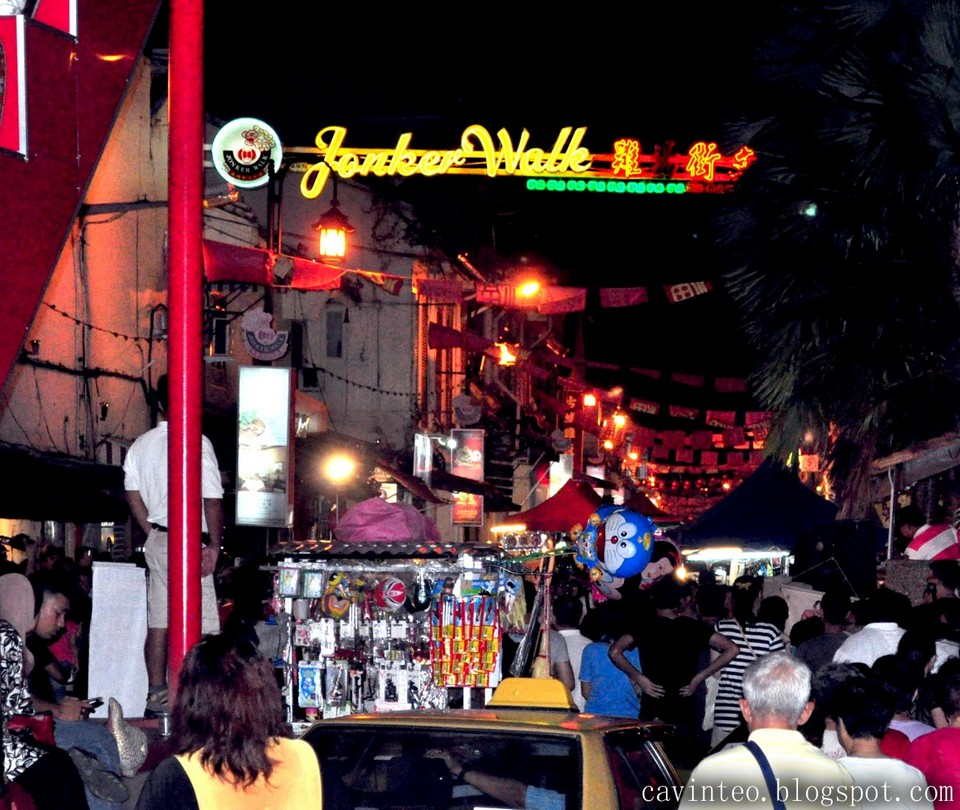 Malacca day trip from KL Night walking, listen to the beat of life (1)
