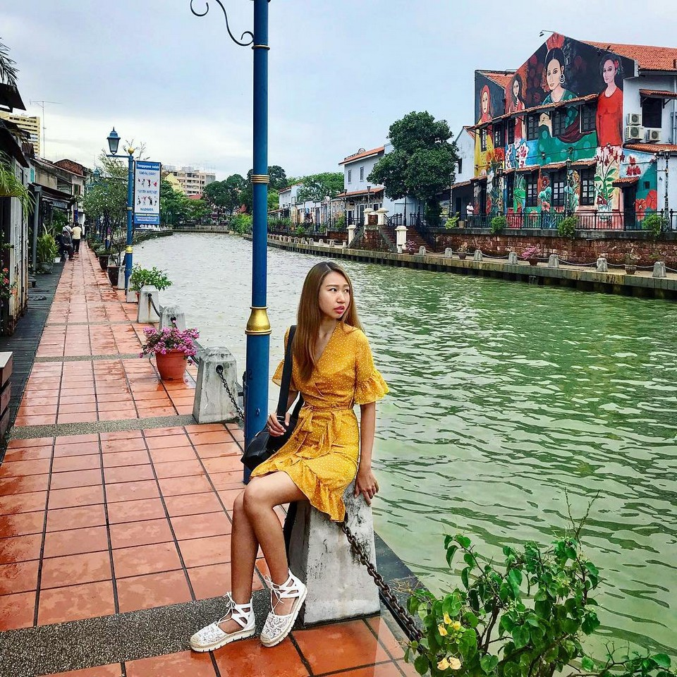 Melaka itinerary 1 day Cafe by the Malacca River (1)