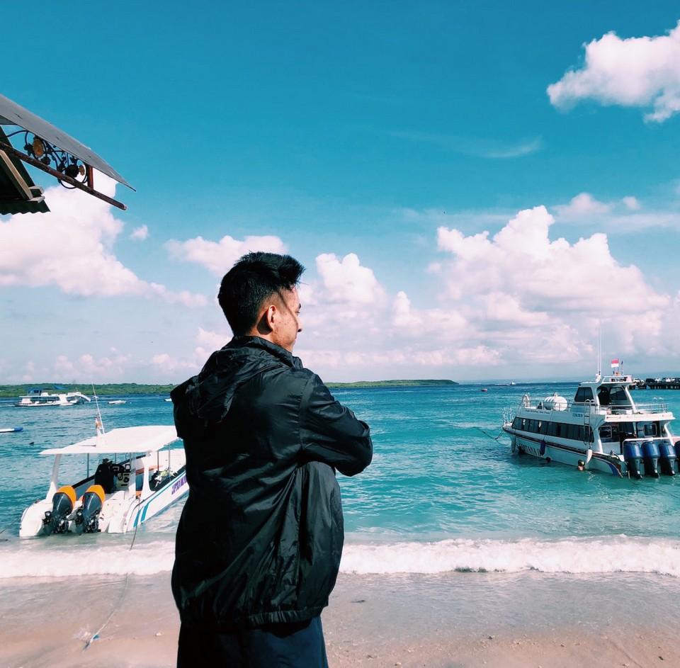 Toya Pakeh pier on Nusa Penida island