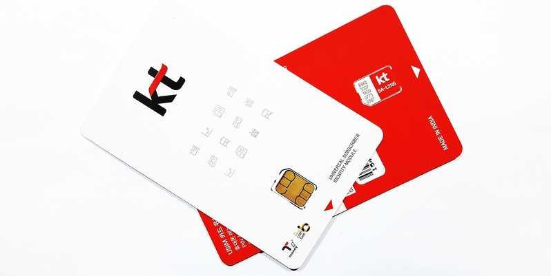 4G LTE Unlimited Data SIM Card - Seou