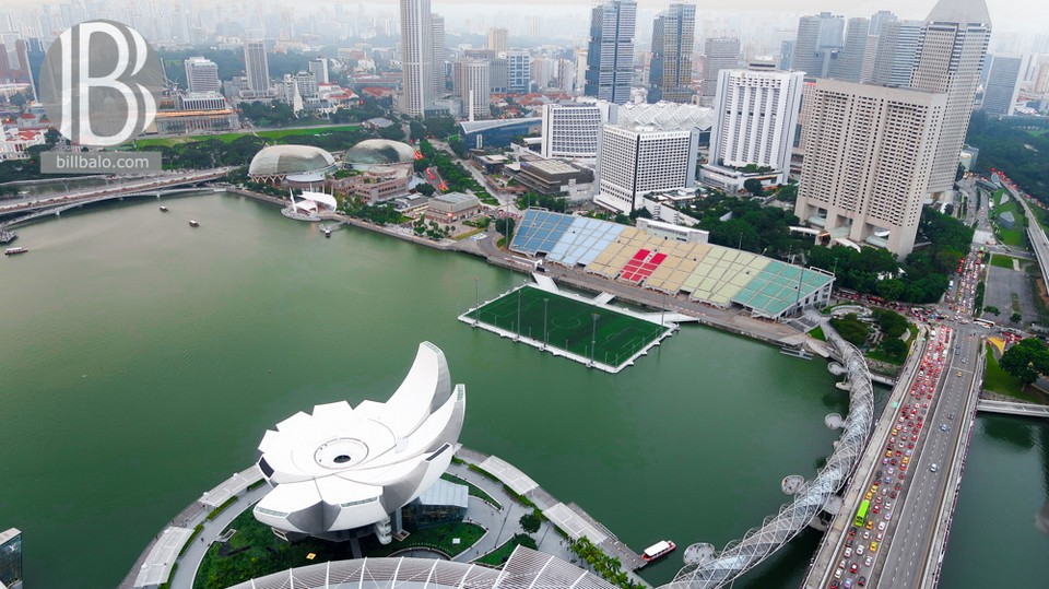 Marina Bay Sands Skypark Sightseeing
