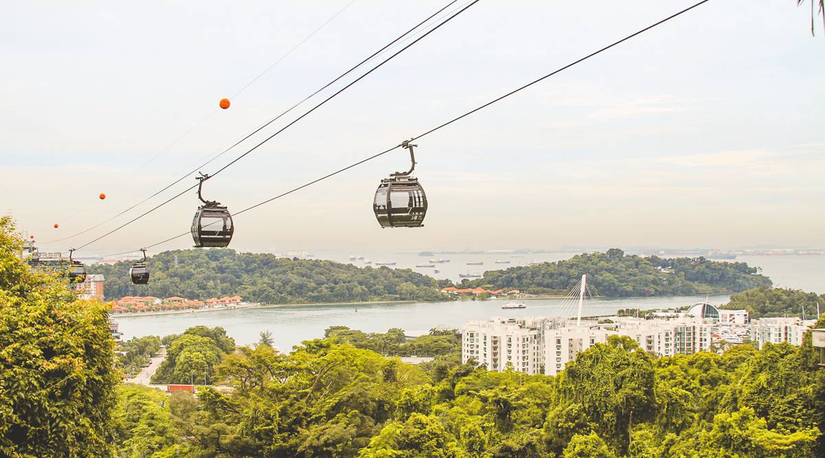 cable car to sentosa