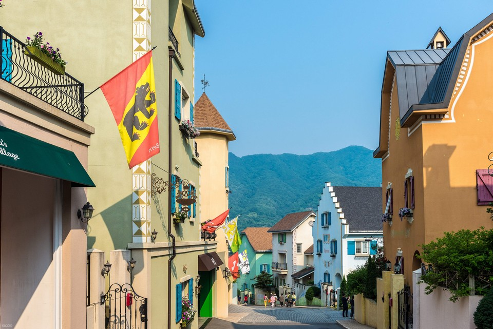 Edelweiss Swiss Theme Park village (1)