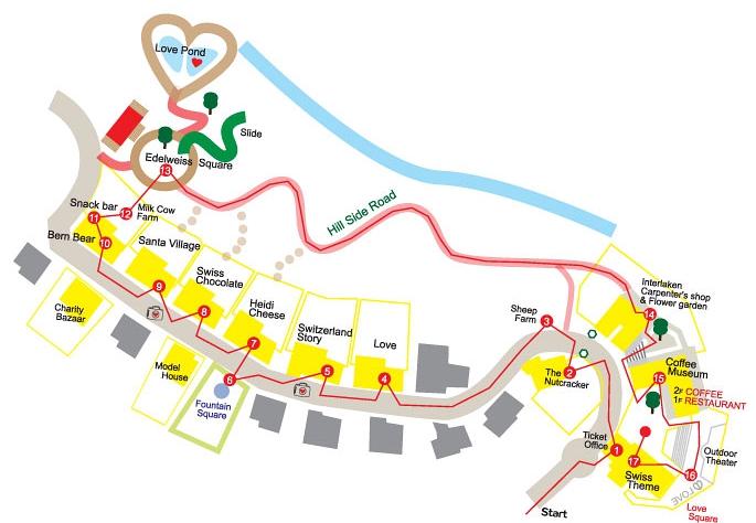 edelweiss swiss theme park korea map