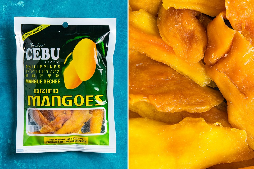 Best things to buy in the Philippines Dried mango (1)