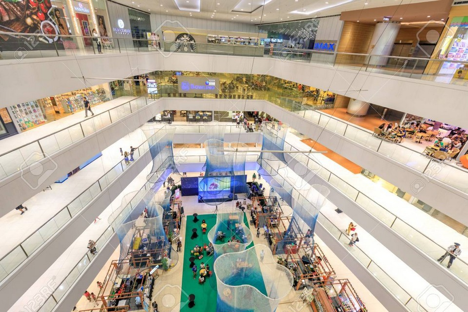Event hall at SM Megamall on Sep 10, 2017 in Manila, Philippines