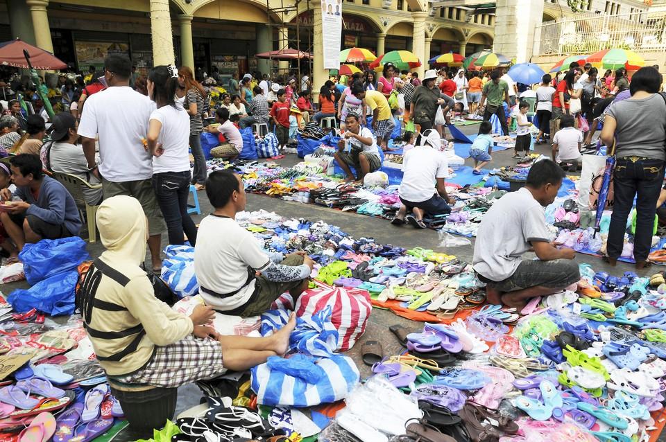 Street market Quiapo