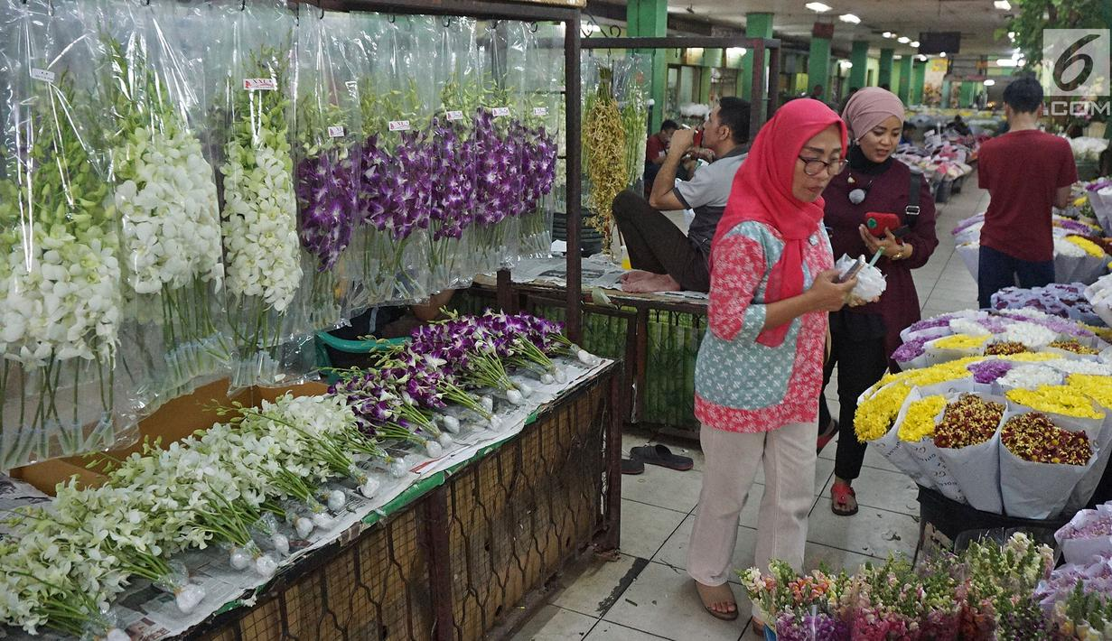 Rawa Belong Flower Market