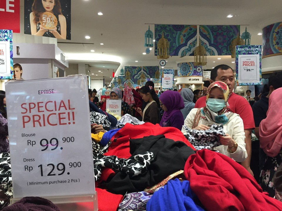 Indonesians spend much during Ramadan