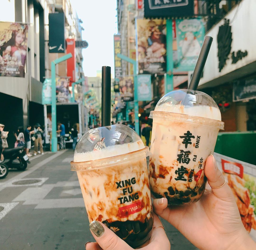 ximending bubble tea