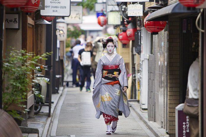 geisha in kyoto
