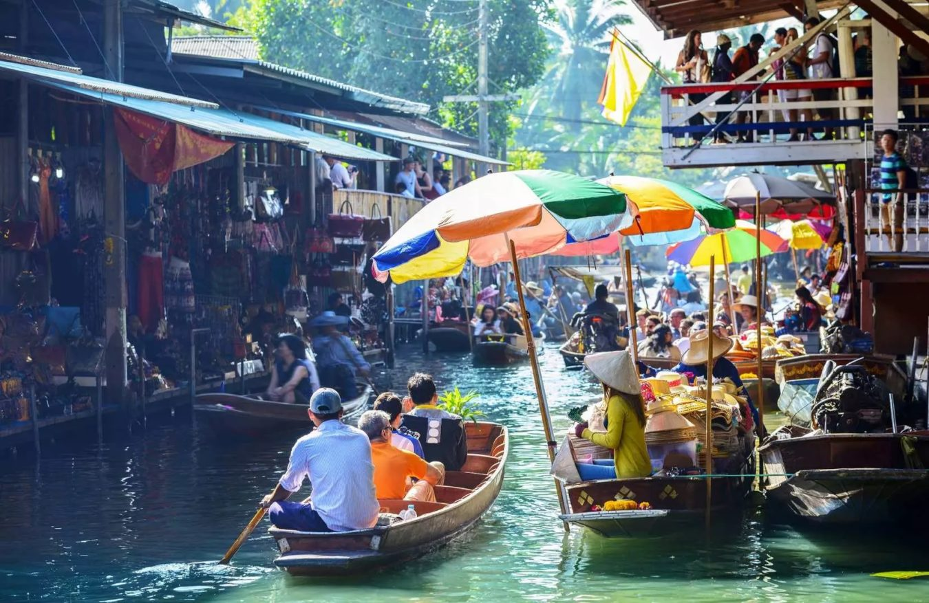 damnoen floating market (1)