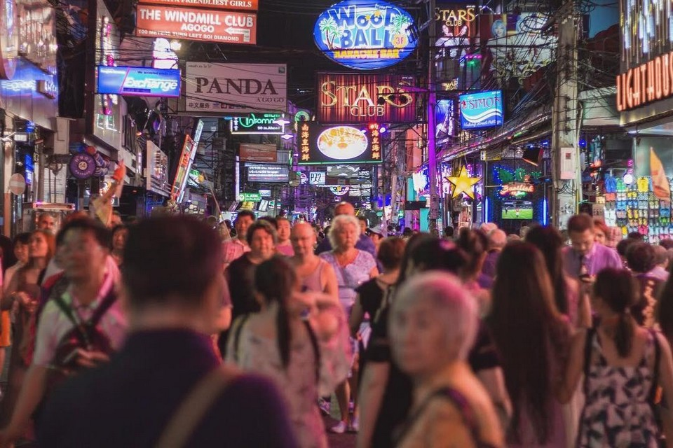 Best things to do in Pattaya Pattaya Walking Street (1)
