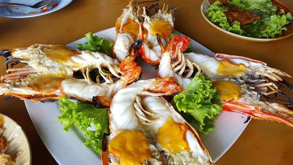 ayutthaya giant prawn